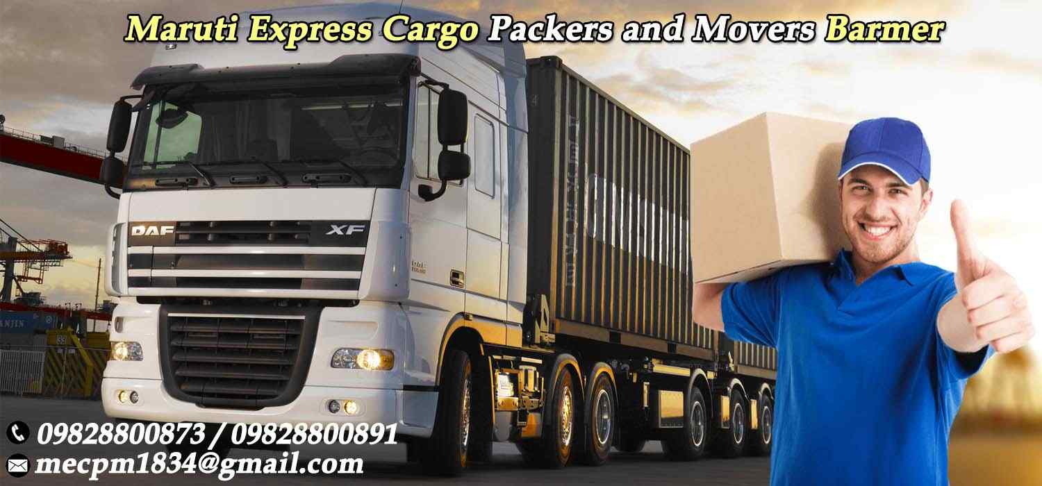 Maruti Express Cargo Packers and Movers Barmer